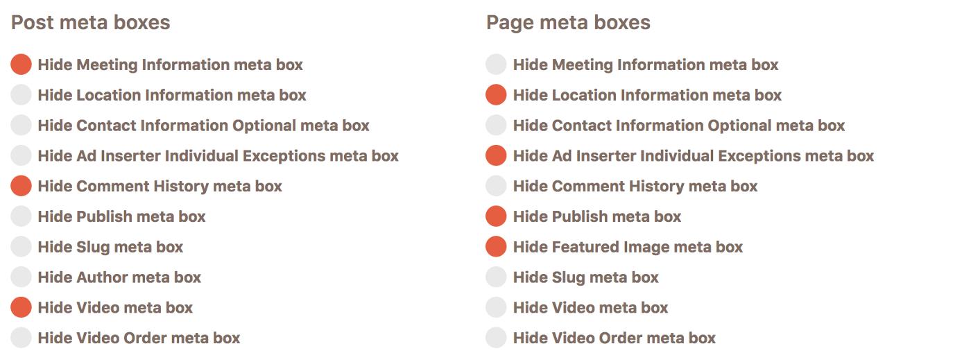 Hiding CPT meta boxes in Cusmin