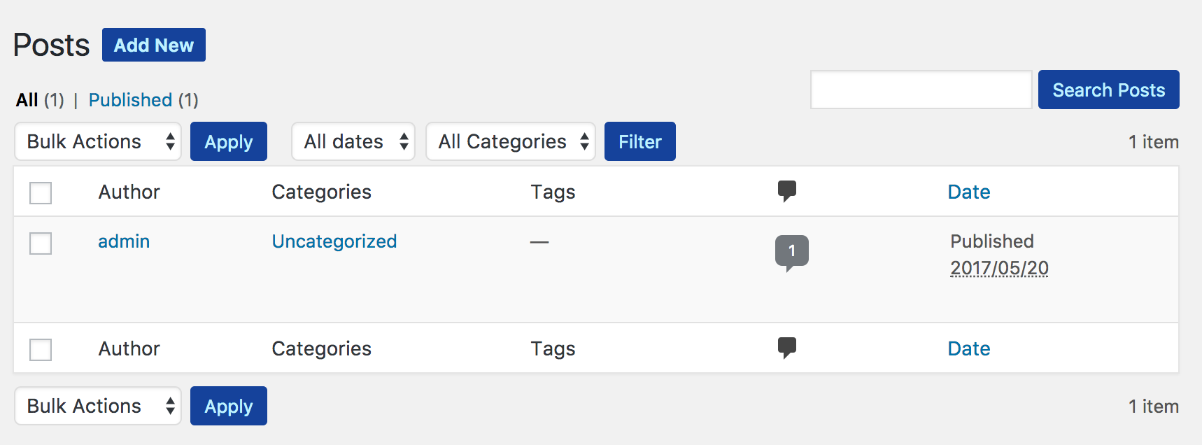 Change button colors in WordPress admin panel