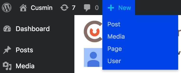 Custom color of the dropdown submenus of the WordPress admin bar