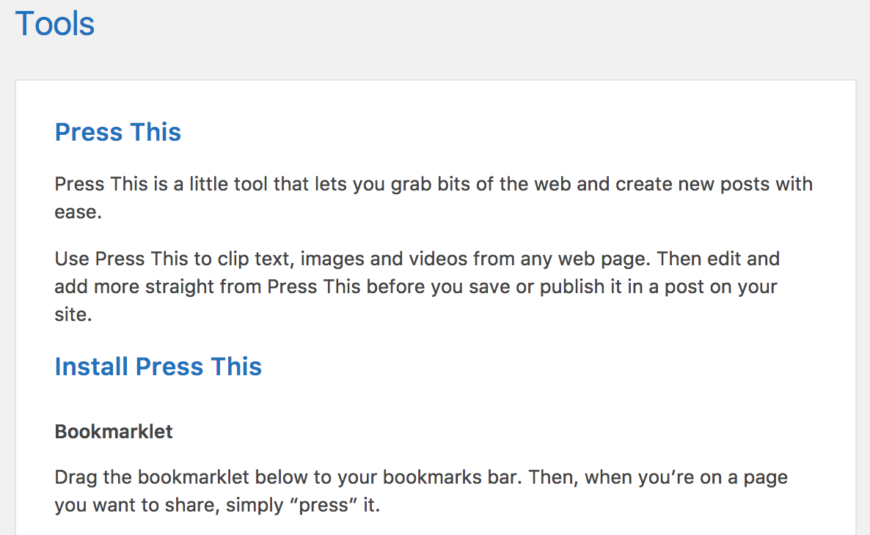 Custom title colors of the WordPress dashboard