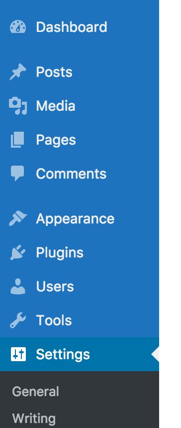 Custom admin menu background color
