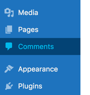 Change the background color of the admin menu item on mouse over