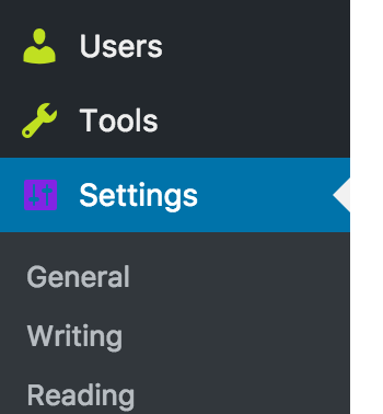 Set the icon color of the currently selected menu item