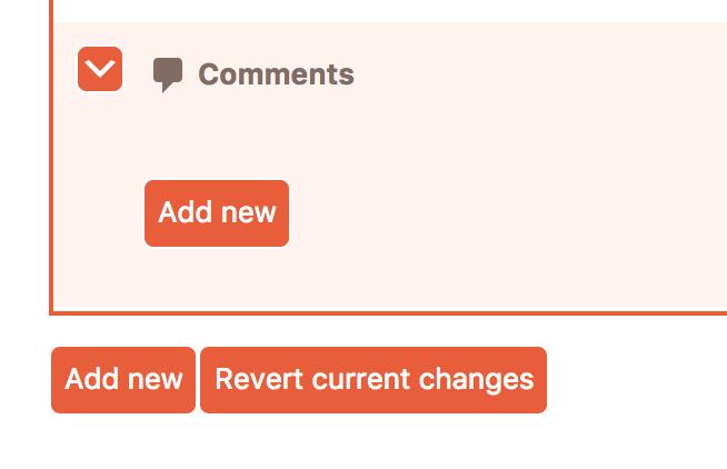 Cusmin Add New button for adding new admin menu items