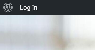 Buddypress button in the top admin bar